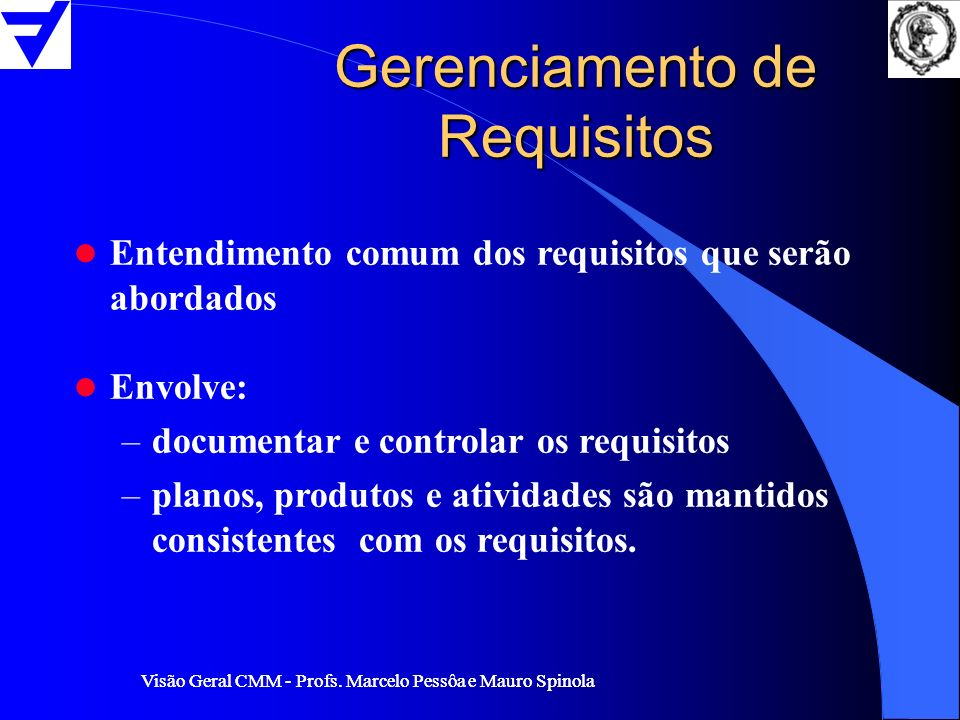Gerenciamento de Requisitos