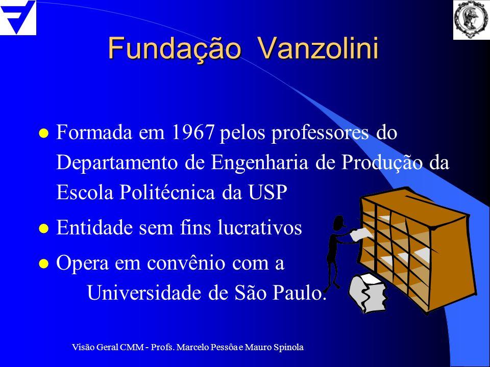Fundação Vanzolini Formada em 1967 pelos professores do Departamento de Engenharia de Produção da Escola Politécnica da USP.