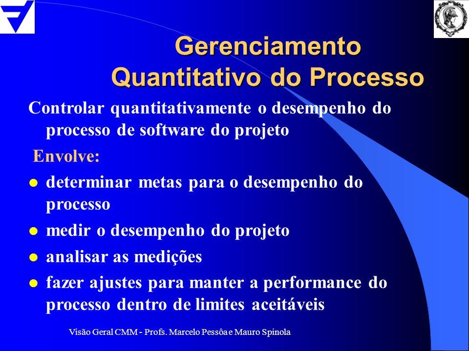 Gerenciamento Quantitativo do Processo