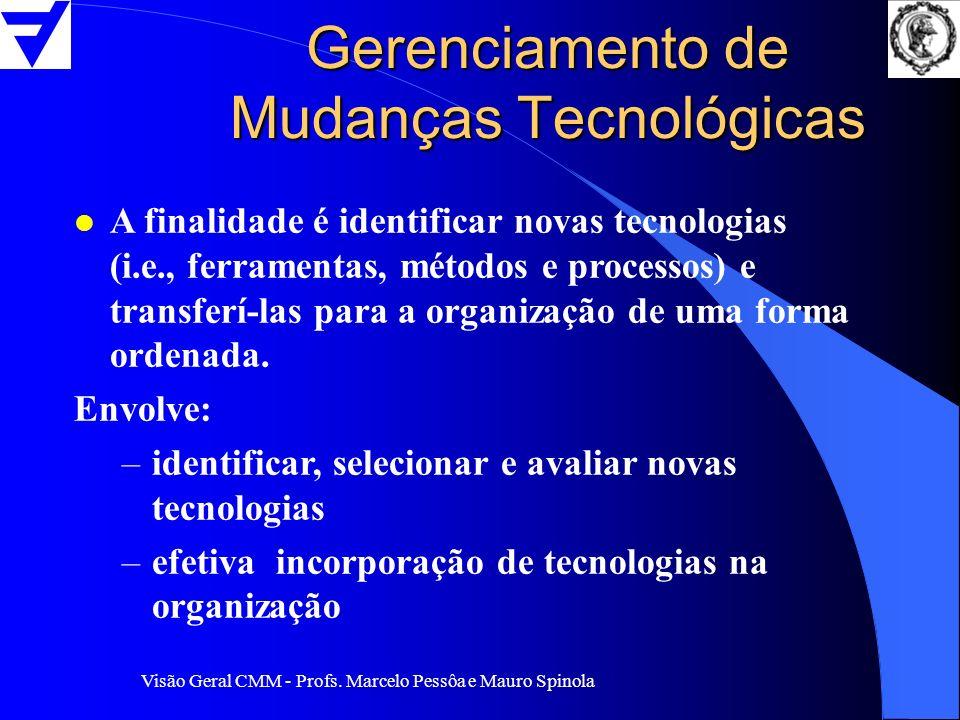 Gerenciamento de Mudanças Tecnológicas