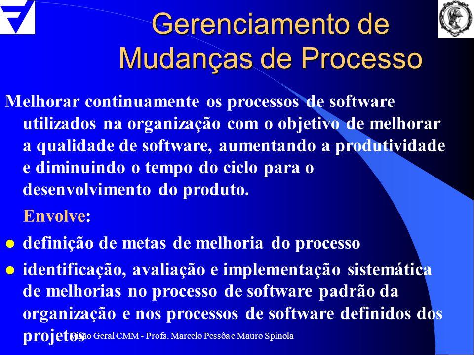 Gerenciamento de Mudanças de Processo