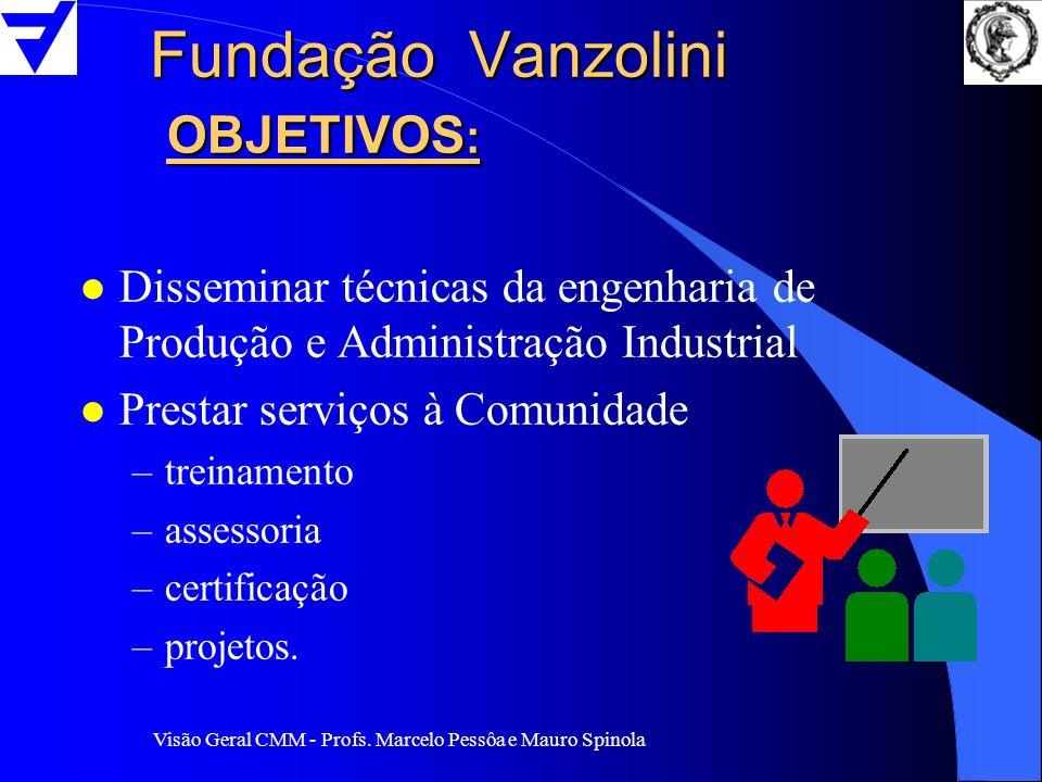 Fundação Vanzolini OBJETIVOS: