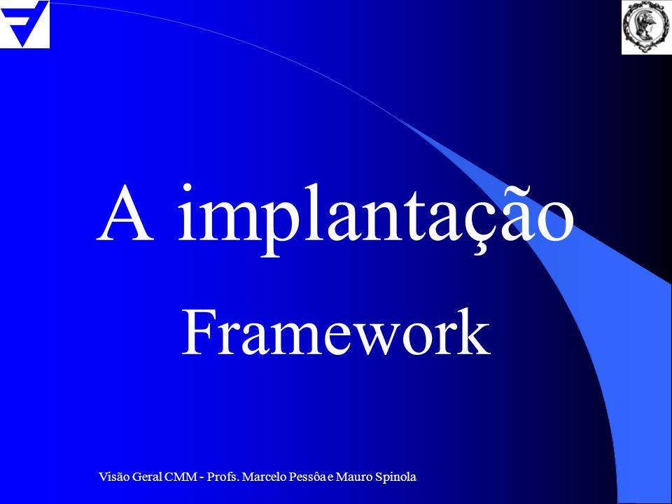 A implantação Framework