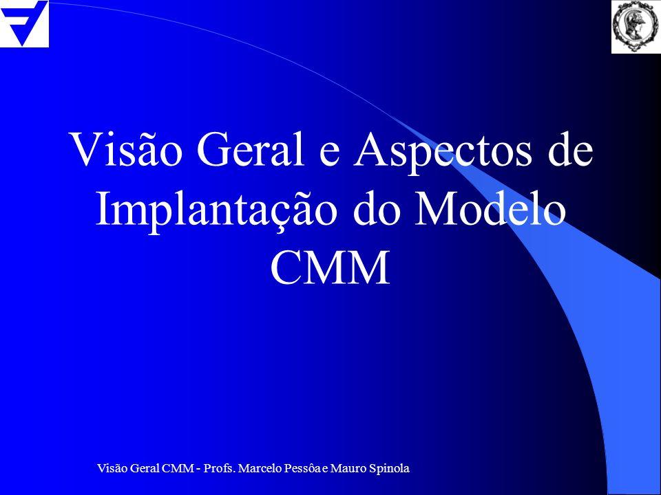 Visão Geral e Aspectos de Implantação do Modelo CMM