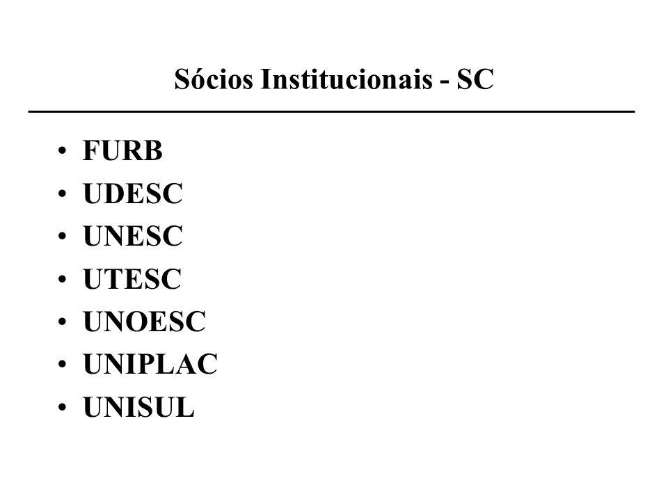 Sócios Institucionais - SC