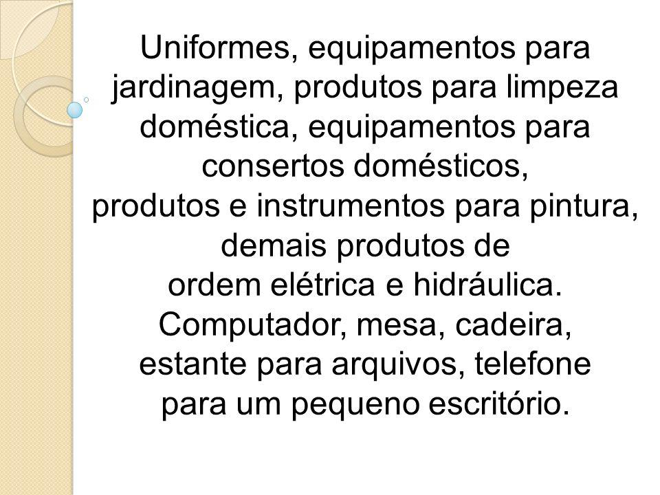 produtos e instrumentos para pintura, demais produtos de