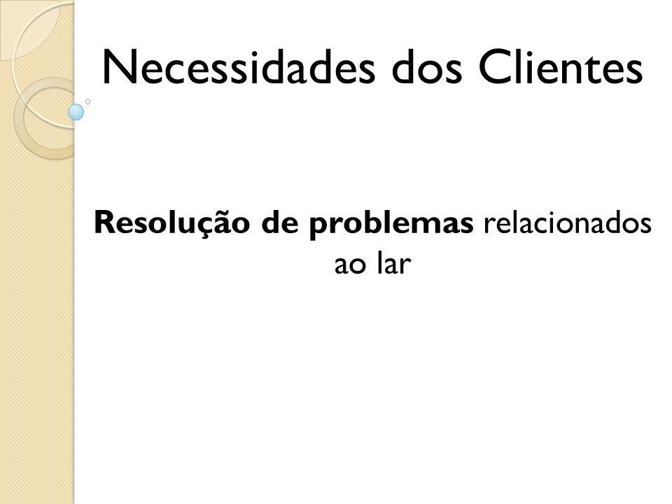 Necessidades dos Clientes