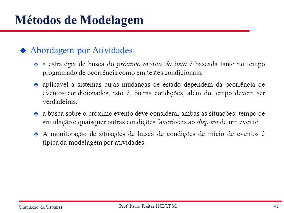 Métodos de Modelagem Abordagem por Atividades
