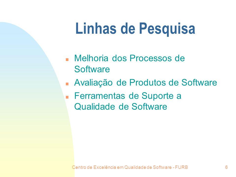 Centro de Excelência em Qualidade de Software - FURB