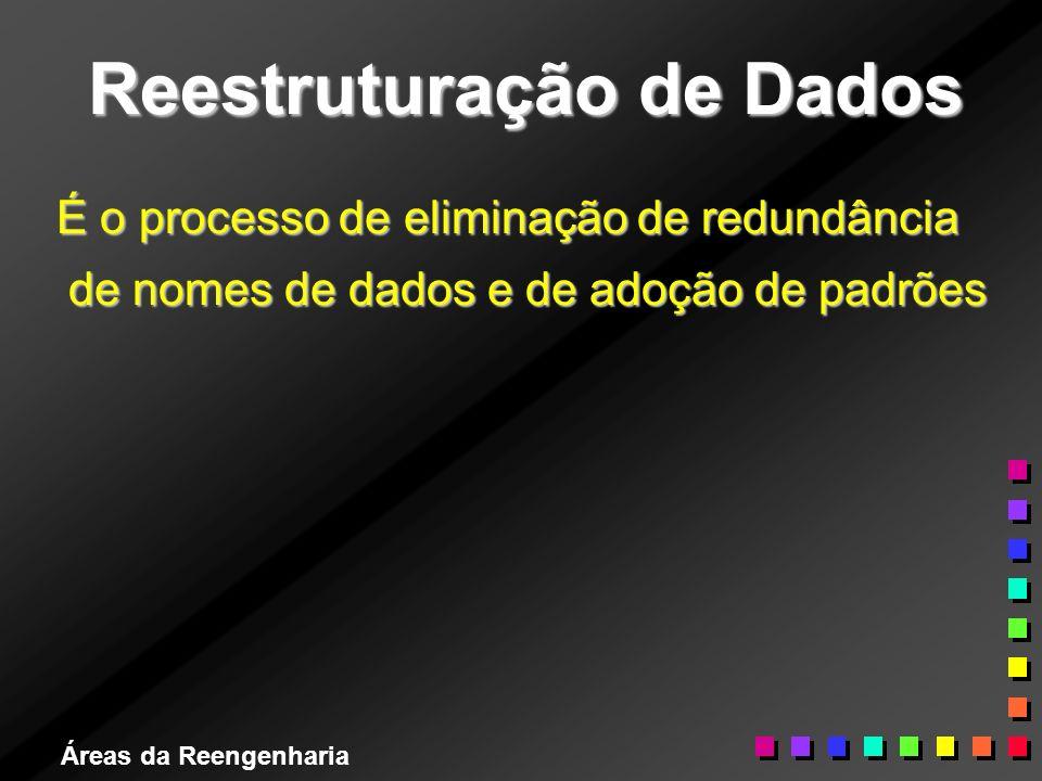 Reestruturação de Dados