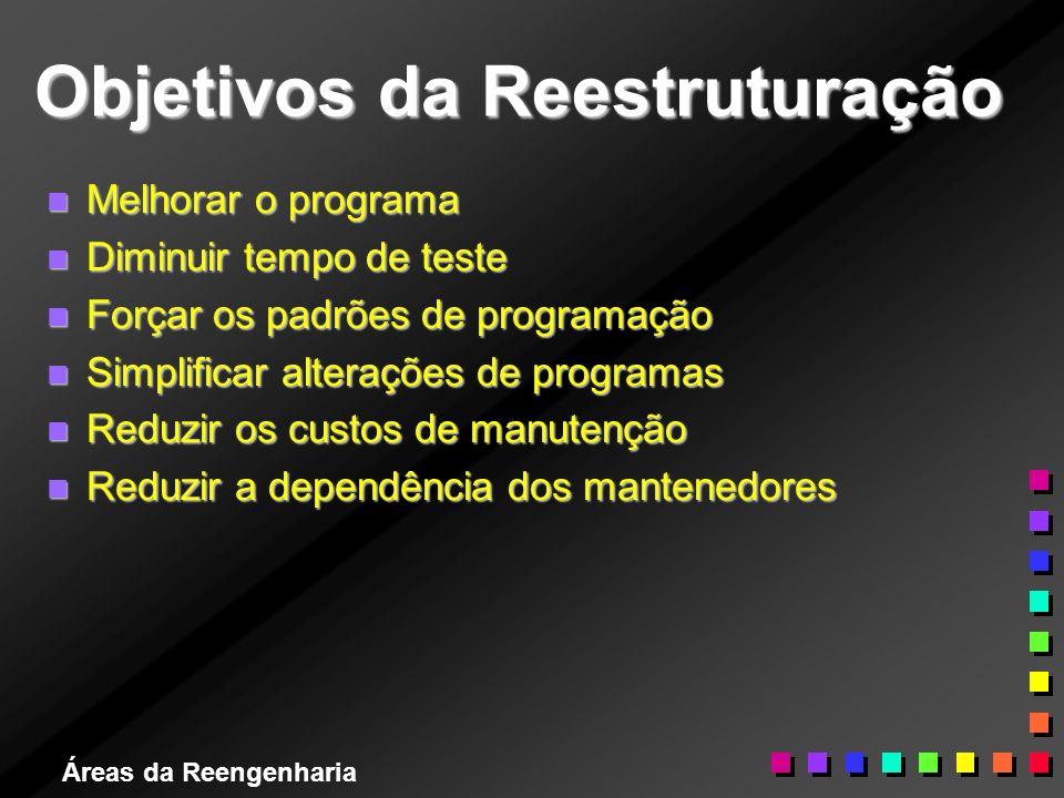 Objetivos da Reestruturação