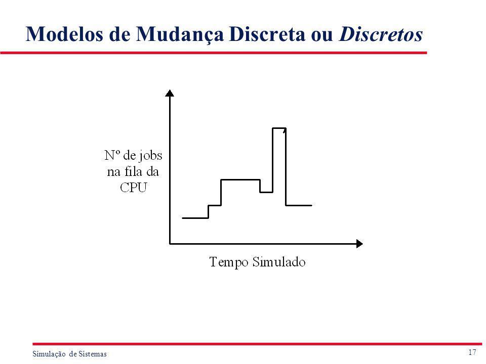 Modelos de Mudança Discreta ou Discretos