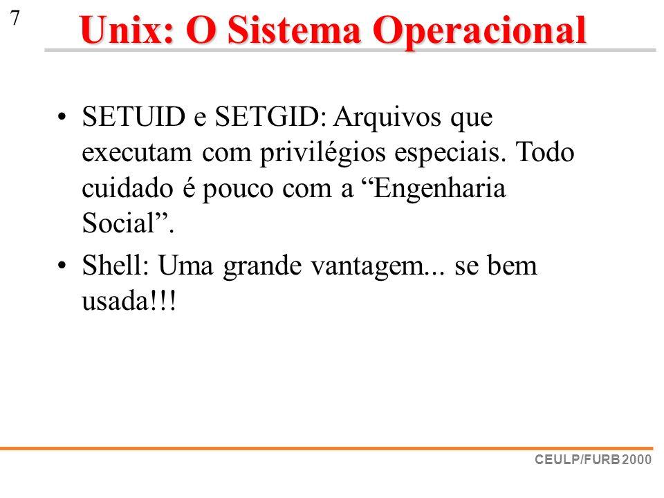 Unix: O Sistema Operacional