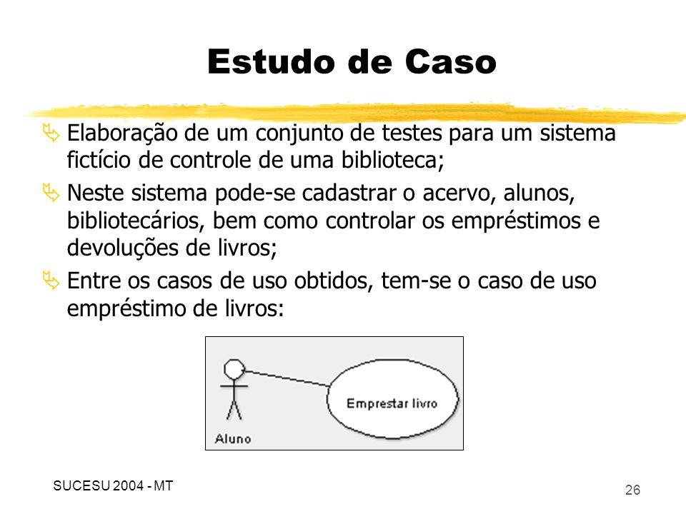 Tabela 4 – Descrição do caso de uso de empréstimo de livros
