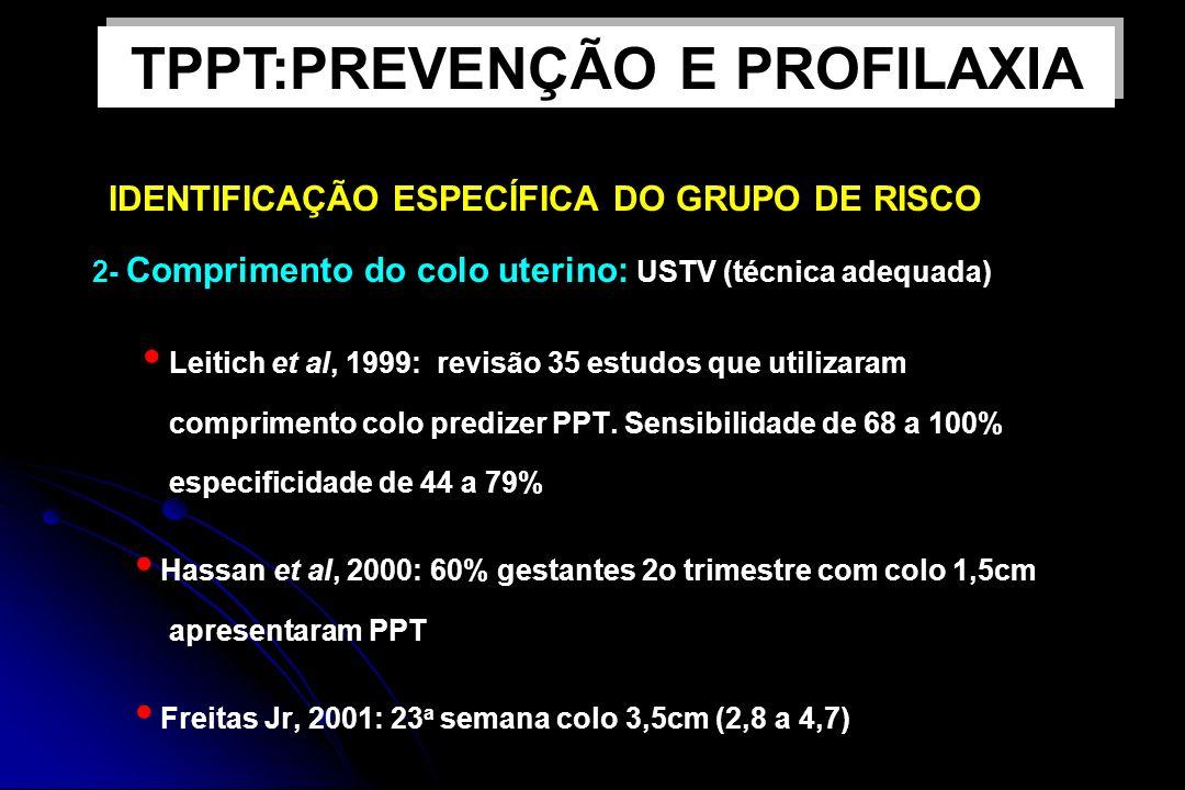 TPPT:PREVENÇÃO E PROFILAXIA IDENTIFICAÇÃO ESPECÍFICA DO GRUPO DE RISCO