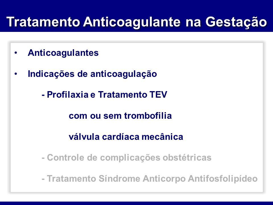 Tratamento Anticoagulante na Gestação