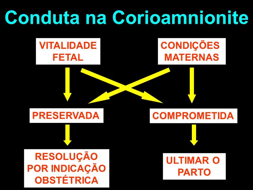 Conduta na Corioamnionite