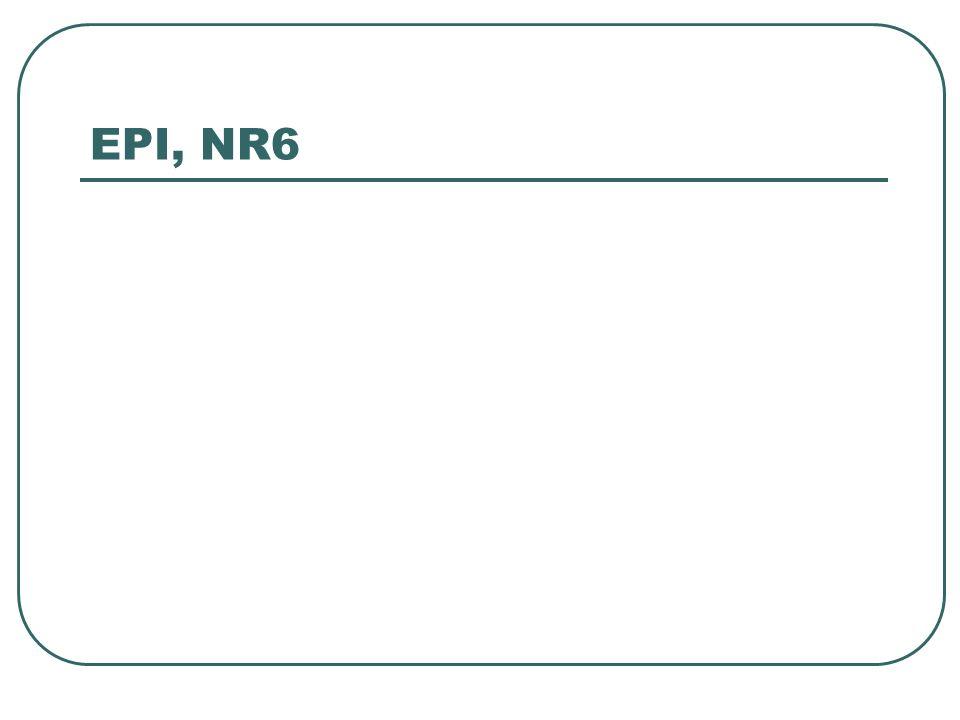 EPI, NR6