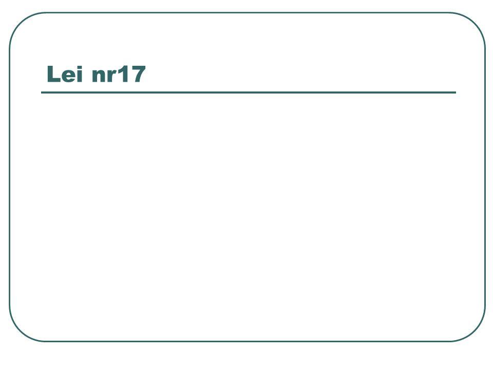 Lei nr17