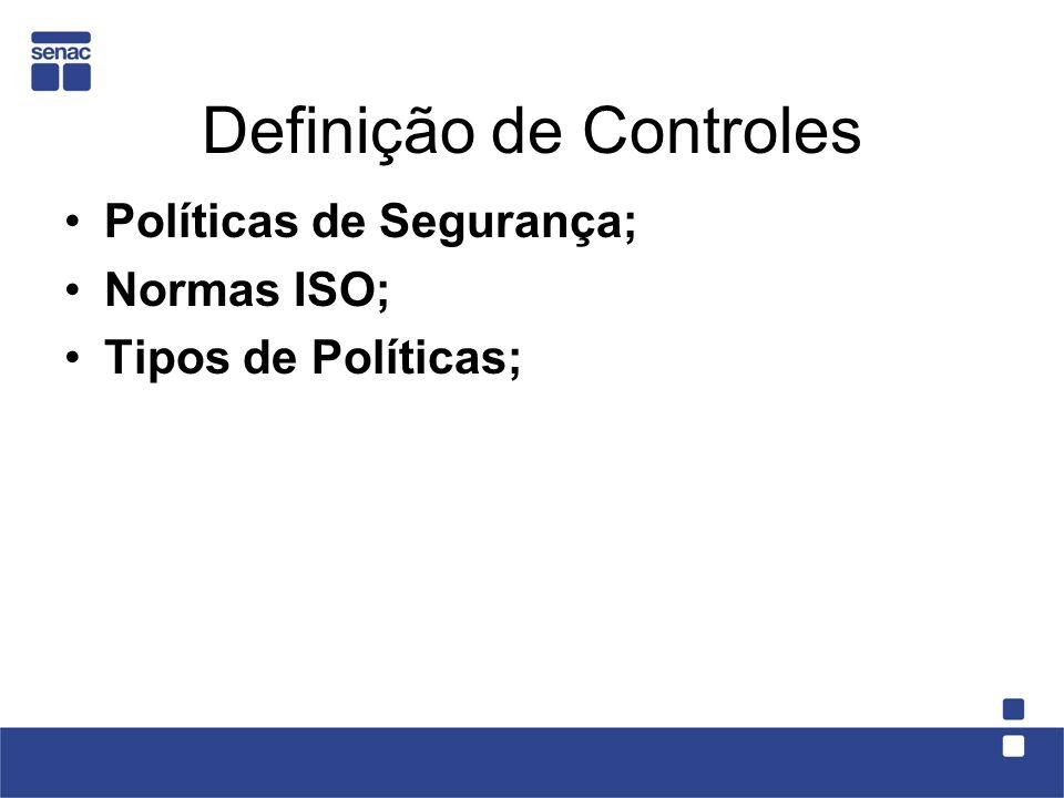 Definição de Controles
