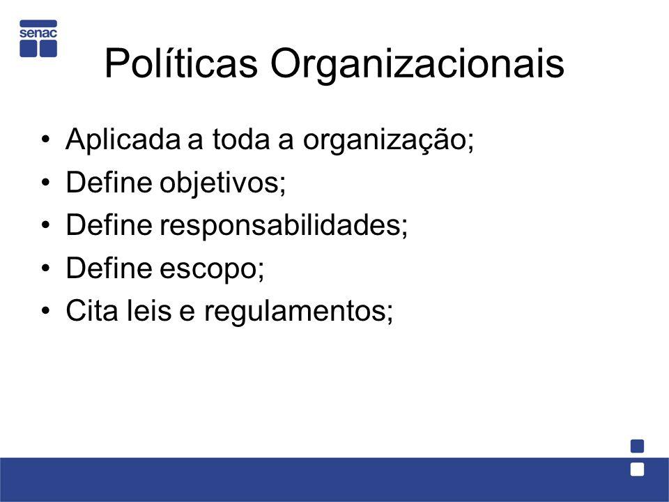 Políticas Organizacionais