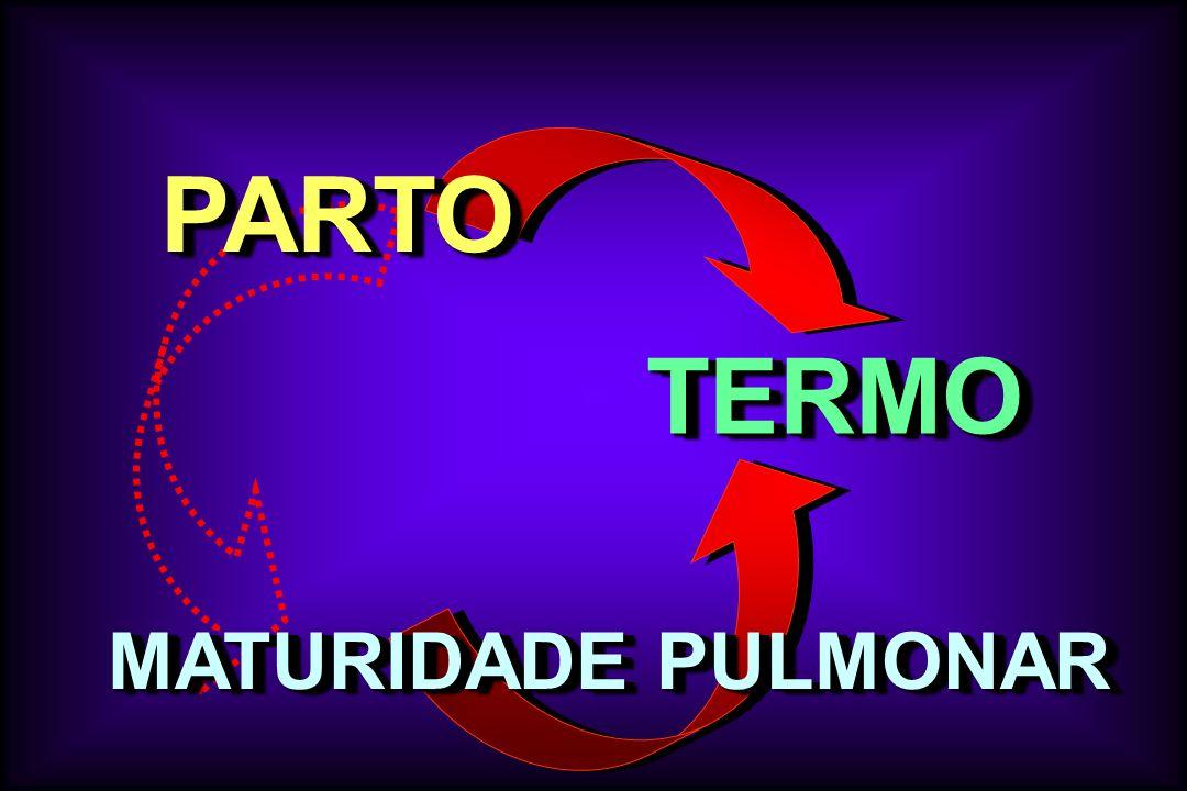 PARTO TERMO MATURIDADE PULMONAR
