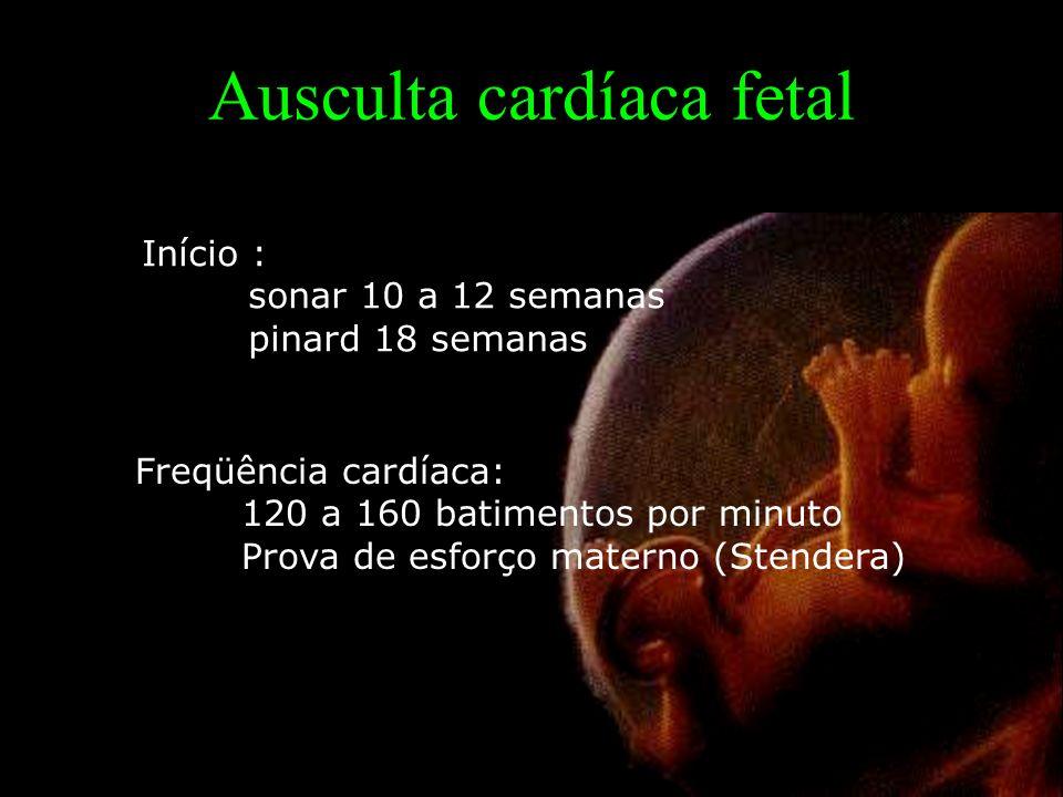 Ausculta cardíaca fetal