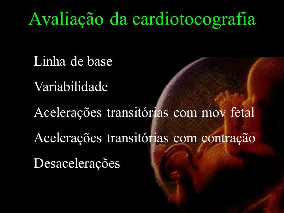 Avaliação da cardiotocografia