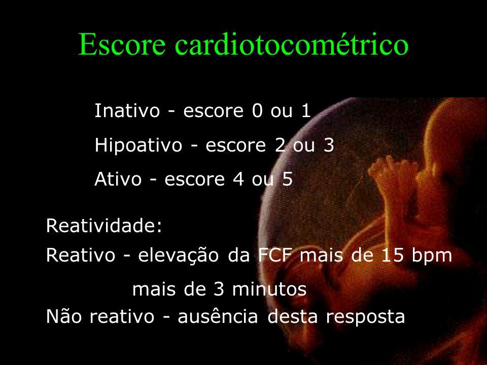 Escore cardiotocométrico