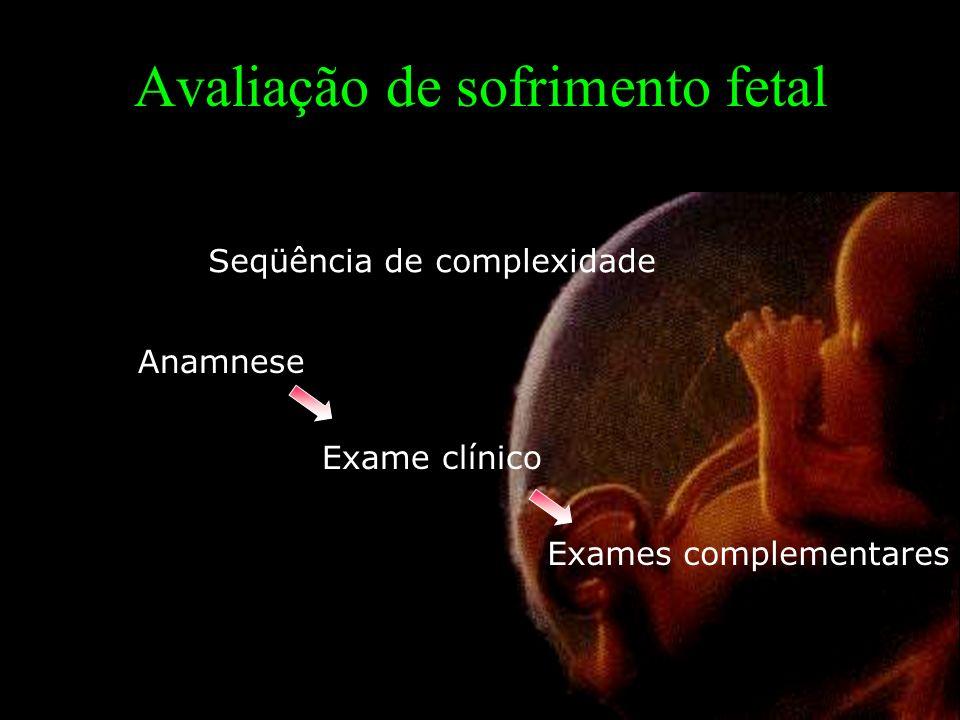 Avaliação de sofrimento fetal
