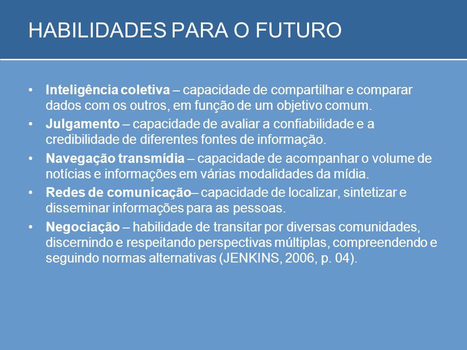 HABILIDADES PARA O FUTURO