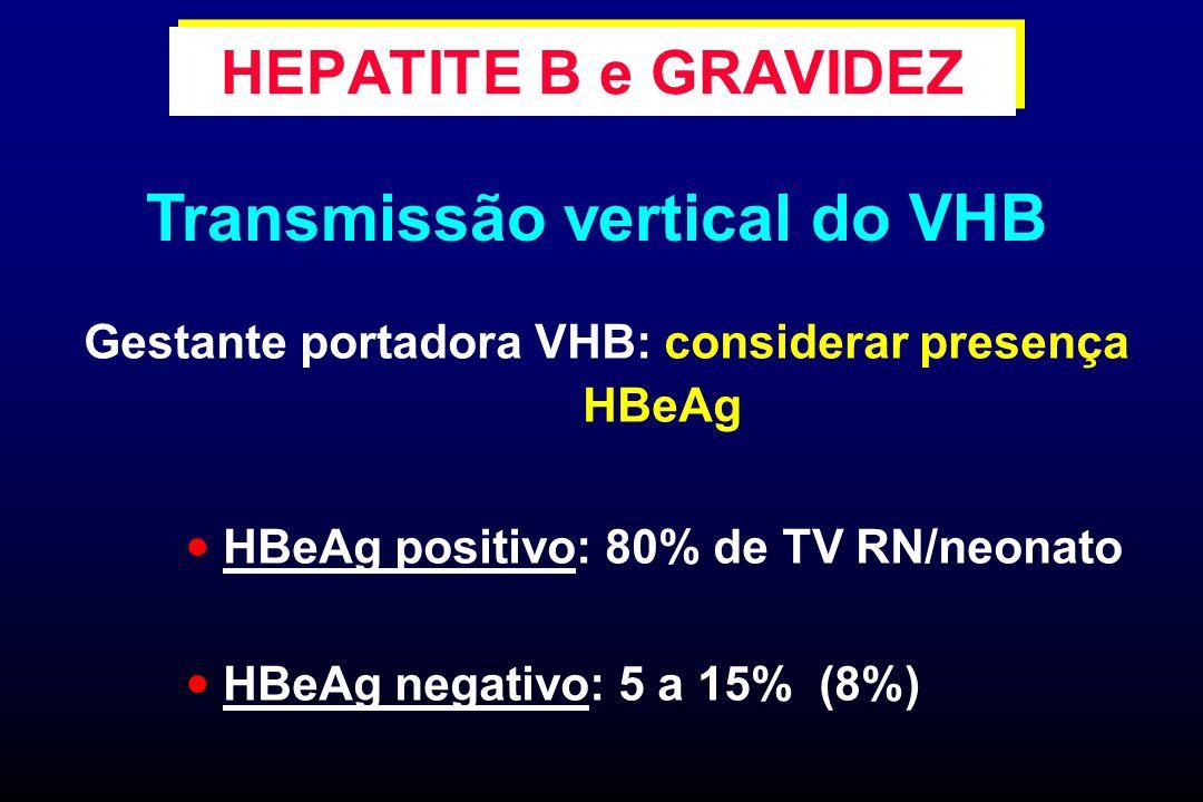 Transmissão vertical do VHB