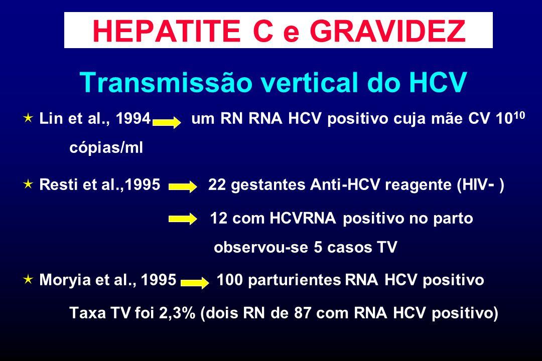 Transmissão vertical do HCV