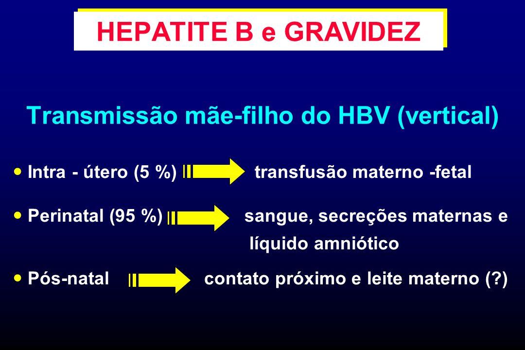 Transmissão mãe-filho do HBV (vertical)