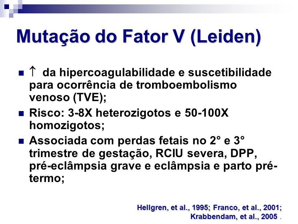 Mutação do Fator V (Leiden)