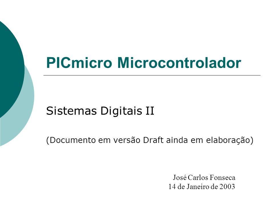 PICmicro Microcontrolador