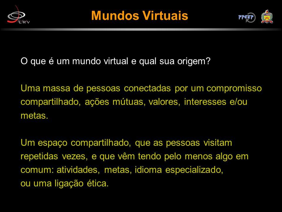 Mundos Virtuais O que é um mundo virtual e qual sua origem