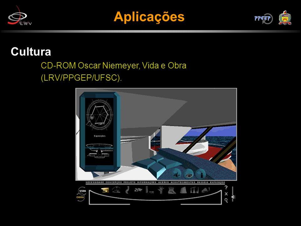 Aplicações Cultura CD-ROM Oscar Niemeyer, Vida e Obra