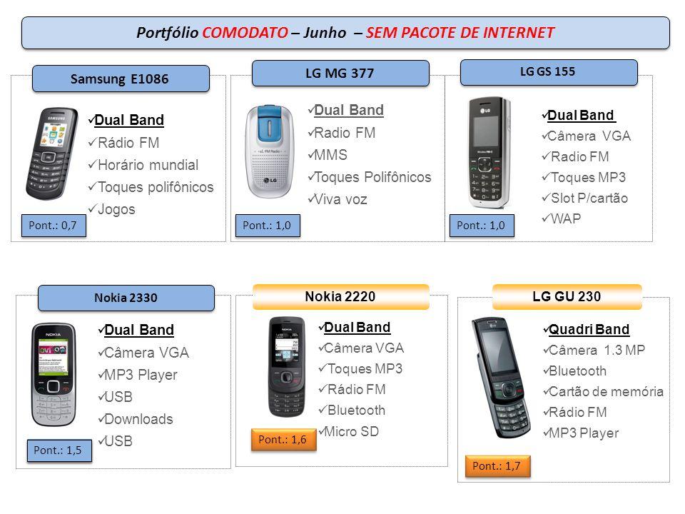 Portfólio COMODATO – Junho – SEM PACOTE DE INTERNET