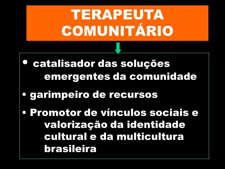 TERAPEUTA COMUNITÁRIO