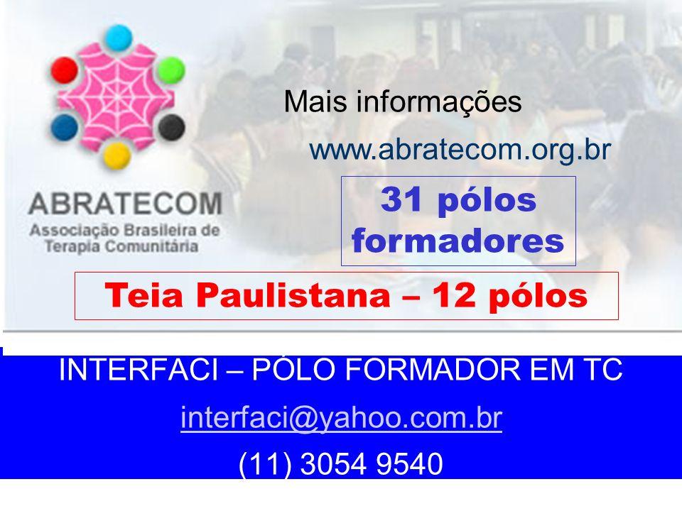 Teia Paulistana – 12 pólos