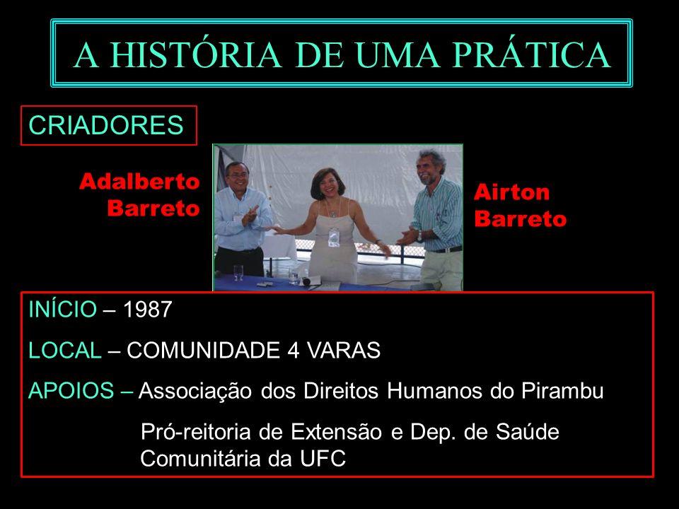A HISTÓRIA DE UMA PRÁTICA