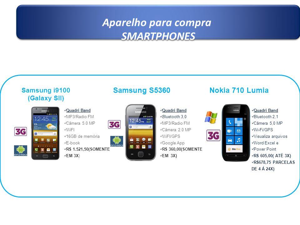 Aparelho para compra SMARTPHONES