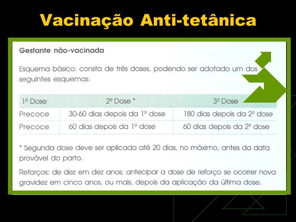 Vacinação Anti-tetânica