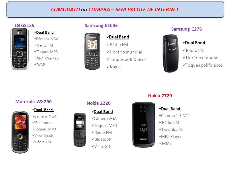 COMODATO ou COMPRA – SEM PACOTE DE INTERNET