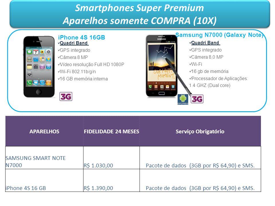 Smartphones Super Premium Aparelhos somente COMPRA (10X)