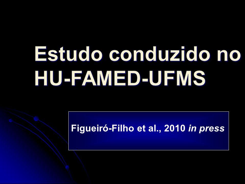 Estudo conduzido no HU-FAMED-UFMS