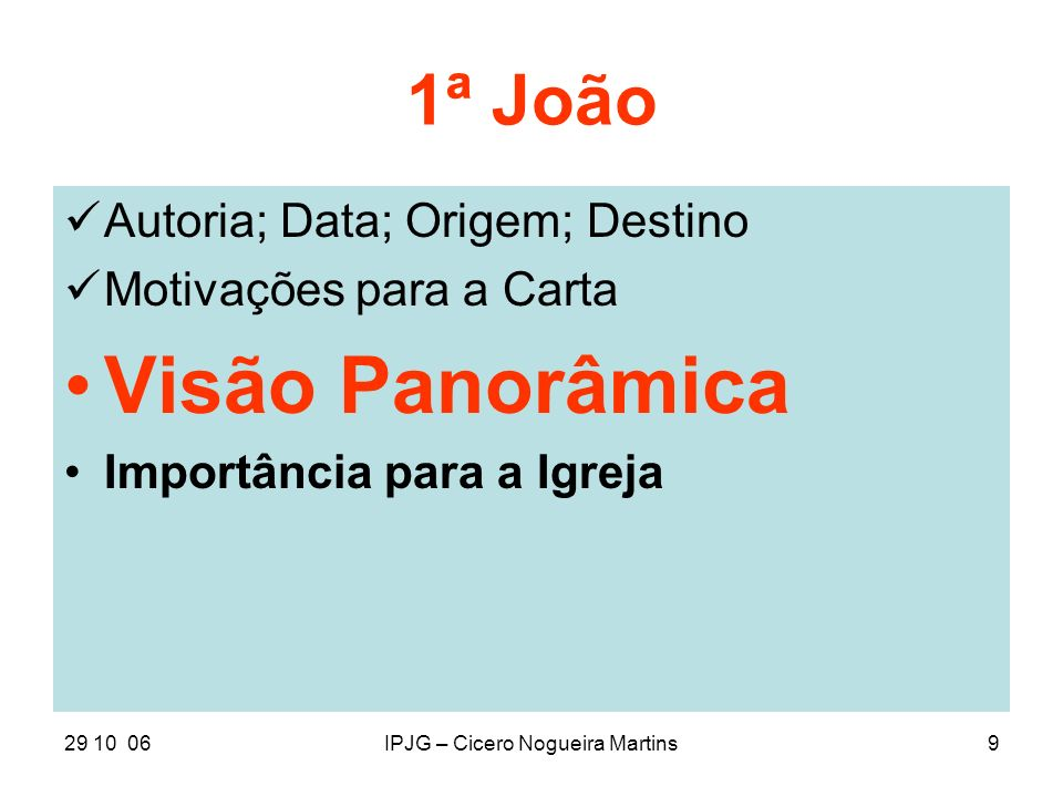 IPJG – Cicero Nogueira Martins