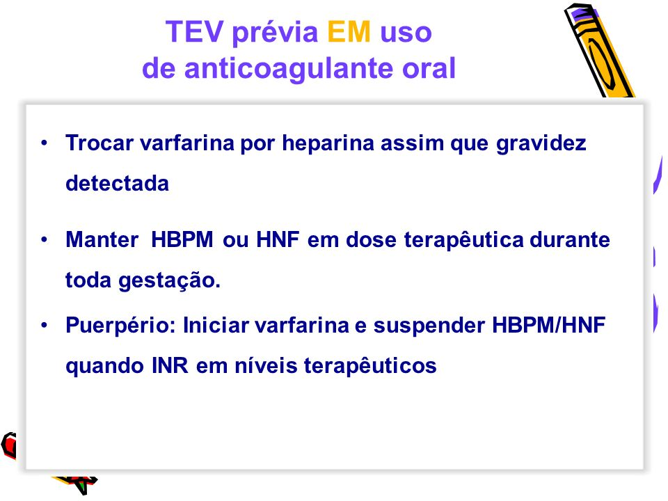 de anticoagulante oral