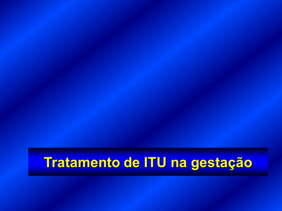 Tratamento de ITU na gestação